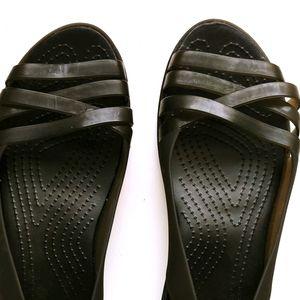 New CROCS huarache flat shoes